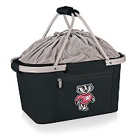 Picnic Time Wisconsin Badgers Metro Insulated Picnic Basket