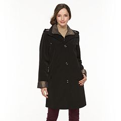Women's Gallery Hooded Lined Rain Jacket