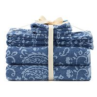 SONOMA Goods for Life™ Ultimate Hygro Paisley 6-piece Bath Towel Set