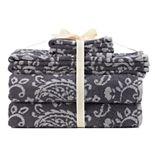 SONOMA Goods for Life® Ultimate Hygro Paisley 6-piece Bath Towel Set