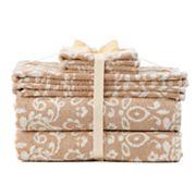 SONOMA Goods for Life™ Ultimate Hygro Paisley 6 pc Bath Towel Set