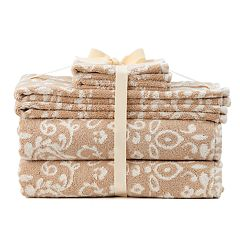 SONOMA Goods for Life™ Ultimate Hygro Paisley 6 pc Bath Towel Set