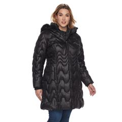 Plus Size Gallery Hooded Puffer Jacket