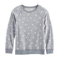 Girls 7-16 & Plus Size SO® Cozy Fleece Pullover Top