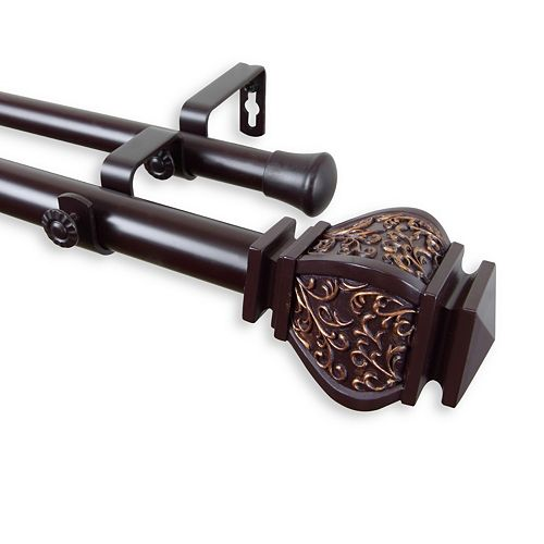 Rod Desyne Margot Double Curtain Rod