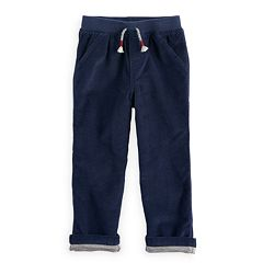 Baby Boy Jumping Beans® Jersey Lined Corduroy Pants