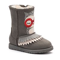 Jumping Beans® Keeya Owl Toddler Girls' Mid-Calf Boots