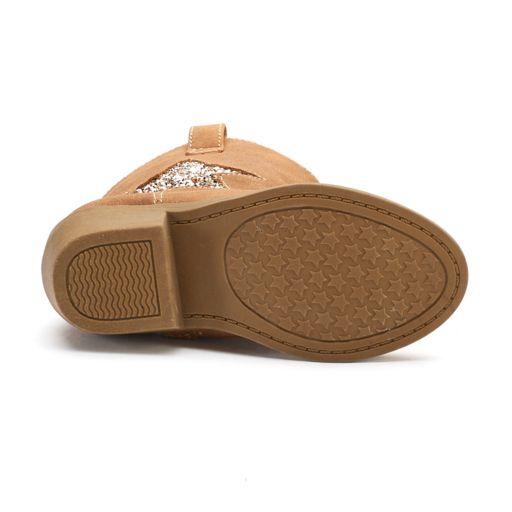 Jumping Beans® Chrissa Toddler Girls' Cowboy Boots
