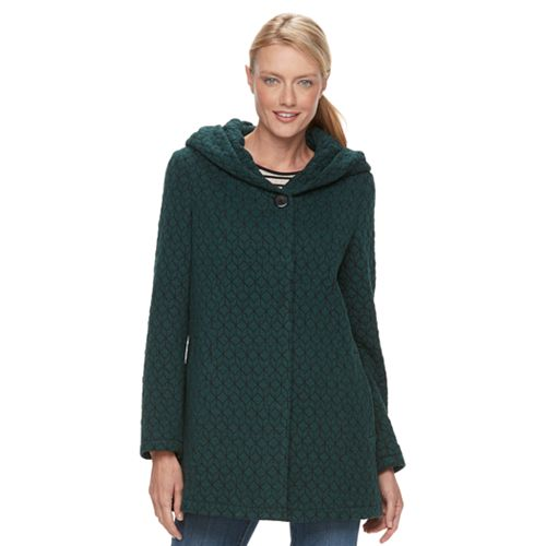 af9a33be5a7 Women s Gallery Hooded Textured Fleece Jacket