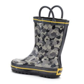 DC Comics Batman Toddler Boys' Waterproof Rain Boots