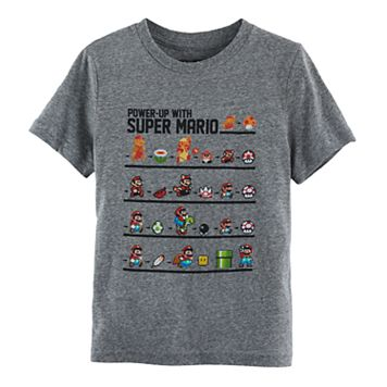 Boys 4-7 Super Mario Bros Power Up Graphic Tee