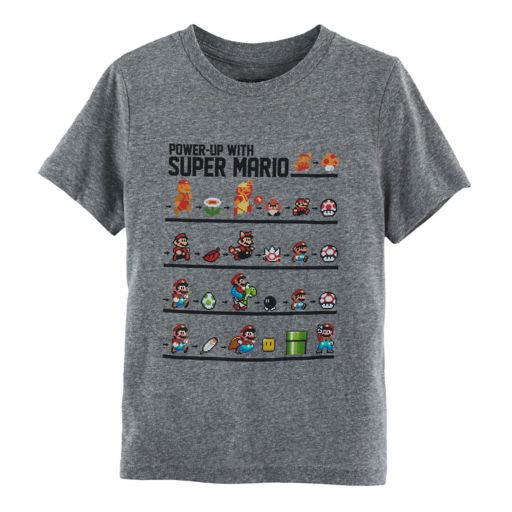 Boys 4-7 Super Mario Bros Power Up Graphic Tee