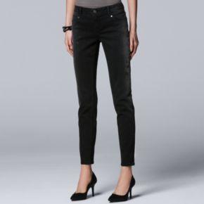 Women's Simply Vera Vera Wang 10th Anniversary Faded Print Skinny Jeans