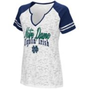 Women's Campus Heritage Notre Dame Fighting Irish Notch-Neck Raglan Tee