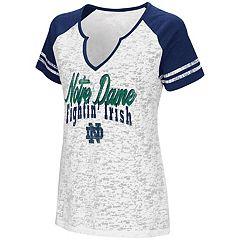 Women's Campus Heritage Notre Dame Fighting Irish Notch-Neck Raglan Tee