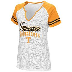 Women's Campus Heritage Tennessee Volunteers Notch-Neck Raglan Tee