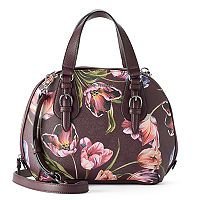 Dana Buchman Sparrow Triple Entry Dome Satchel