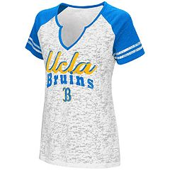 Women's Campus Heritage UCLA Bruins Notch-Neck Raglan Tee