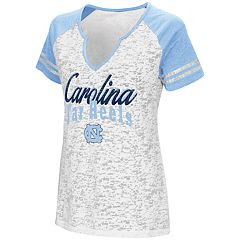 Women's Campus Heritage North Carolina Tar Heels Notch-Neck Raglan Tee
