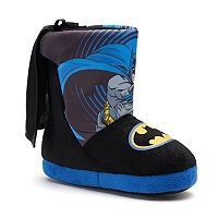 DC Comics Batman Toddler Boys' Bootie Slippers