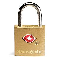 Samsonite Brass Key Lock 2-pk.