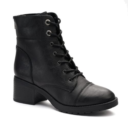 Converse Ranking Block Heel Combat Boots