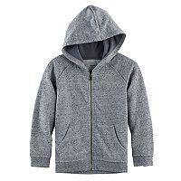 Boys 4-7x SONOMA Goods for Life™ Raw Edge Zip Hoodie