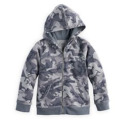 Boys 4-7x SONOMA Goods for Life™ Raw Edge Zip Hoodie