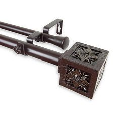 Rod Desyne Ophelia Double Curtain Rod