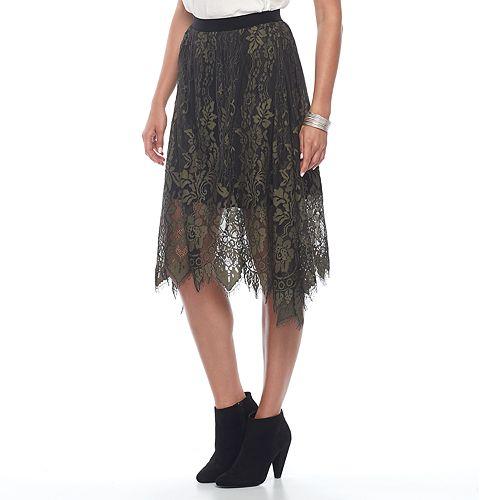 Women's Apt. 9® Lace Skirt