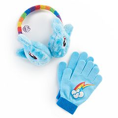 Girls 4-16 My Little Pony Rainbow Dash Faux-Fur Ear Muffs