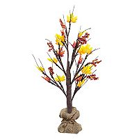 Apothecary Harvest 2-ft. Light-Up Artificial Tree Floor Decor