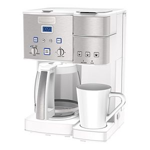Cuisinart® Coffee Center? 12 Cup Coffeemaker and Single-Serve Brewer