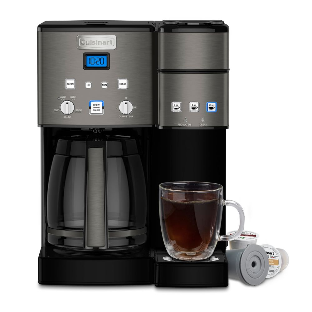 Cuisinart 12 Cup Coffee Maker Single Serve Brewer