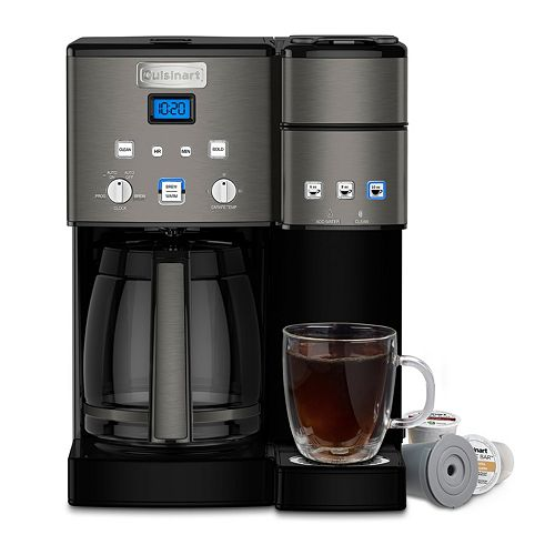 901c068f55a5 Cuisinart 12-Cup Coffee Maker   Single-Serve Brewer