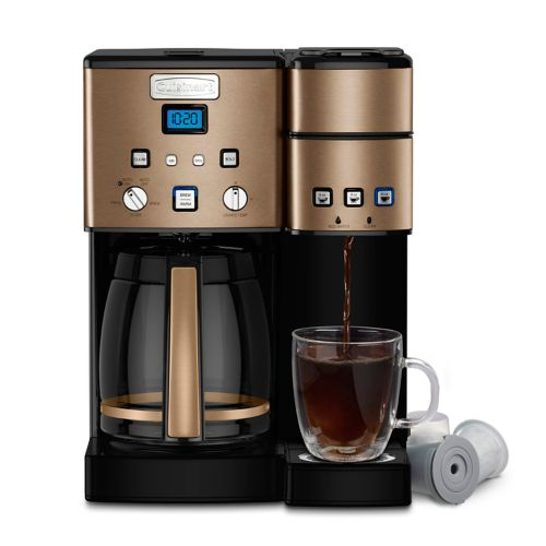 Cuisinart 12 Cup Coffee Maker &Amp; Single Serve Brewer by Kohl's