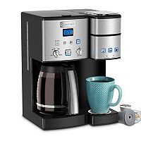 Cuisinart 12-Cup Coffee Maker & Single-Serve Brewer