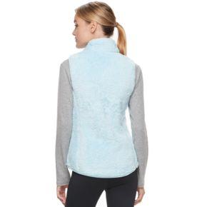 Women's FILA SPORT® Giro Sherpa Fleece Mockneck Vest
