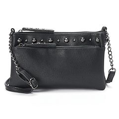 Mudd® Studded Double Entry Crossbody Bag