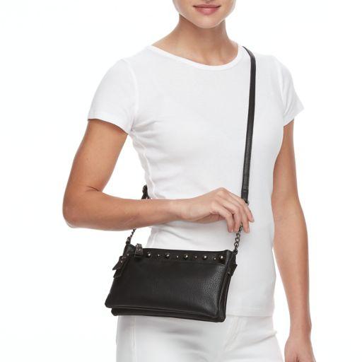Mudd® Studded Double Entry Crossbody Bag