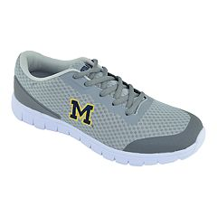 Men's Michigan Wolverines Easy Mover Athletic Tennis Shoes
