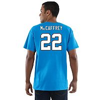 Men's Majestic Carolina Panthers Christian McCaffery Eligible Receiver Tee