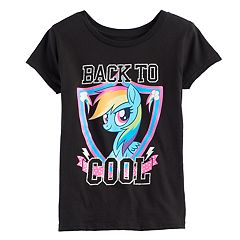 Girls 7-16 My Little Pony Rainbow Dash 'Back to Cool' Graphic Tee