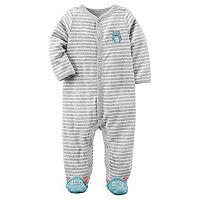Baby Boy Carter's Striped Terry Sleep & Play