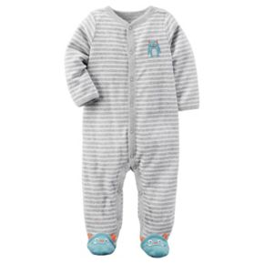 Baby Boy Carter's Striped Terry Sleep & Play