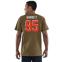 Men's Majestic Cleveland Browns Myles Garrett Eligible Receiver Tee