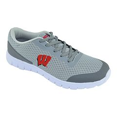 Men's Wisconsin Badgers Easy Mover Athletic Tennis Shoes