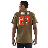 Men's Majestic Cleveland Browns Jabrill Peppers Eligible Receiver Tee