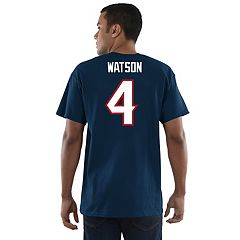 Men's Majestic Houston Texans Deshaun Watson Eligible Receiver Tee