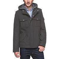 Men's Levi's® Wool Hooded Trucker Jacket